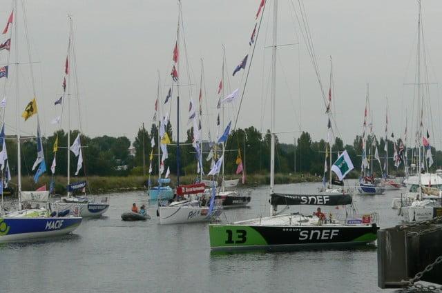 Course du Figaro 2011