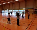 Pratique du volley ball