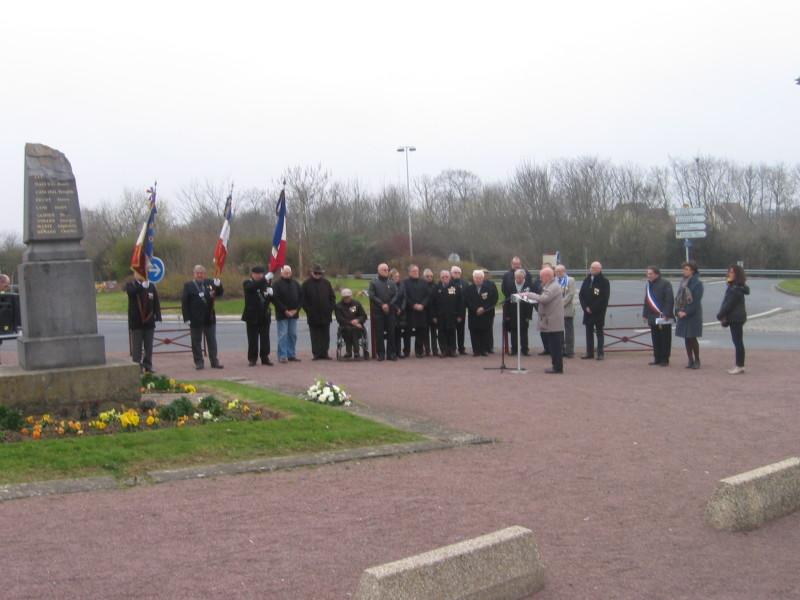 2015: cérémonie de la commémoration des Anciens Combattants d'Afrique du Nord