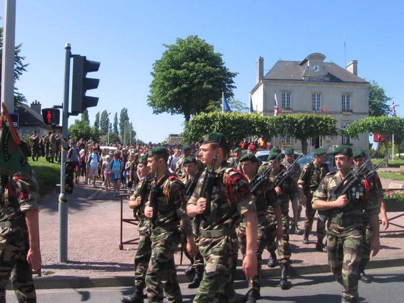 2015 : Marche de la route du 4 Commando