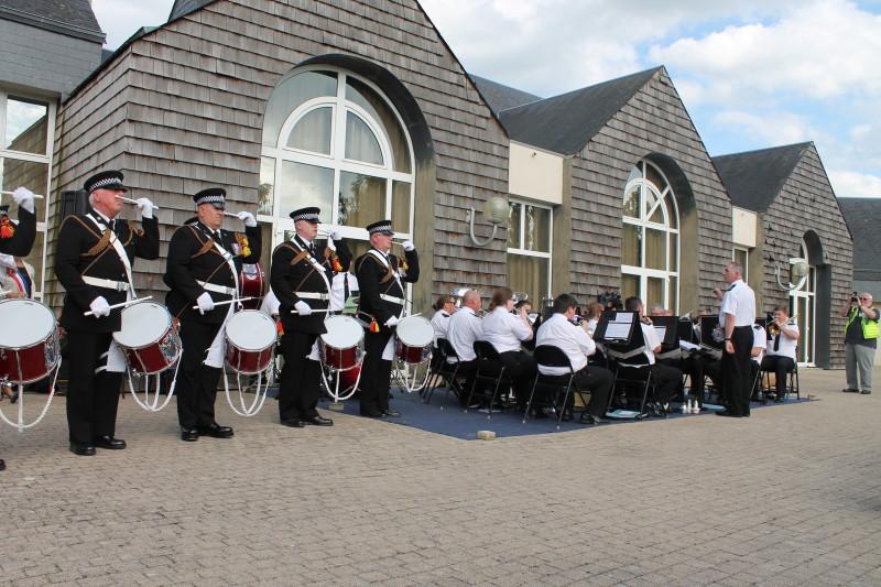 Le Police Band du West Yorkshire