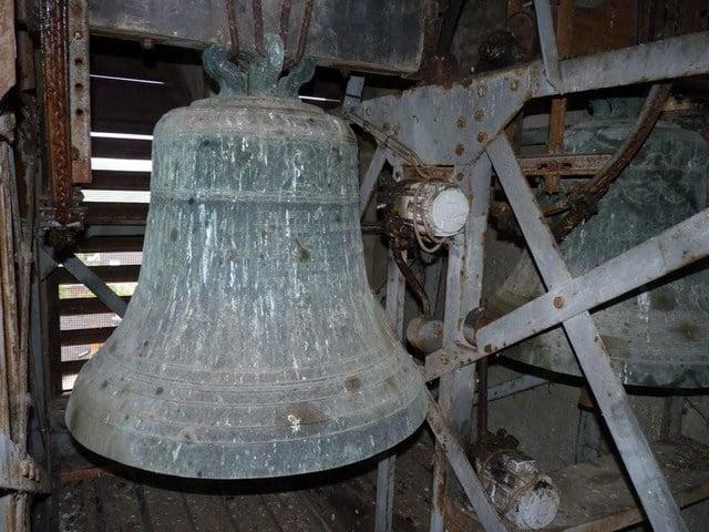 Les cloches de l'église