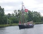 channel race dimanche 2 septembre 2012 voilier accompagnateur