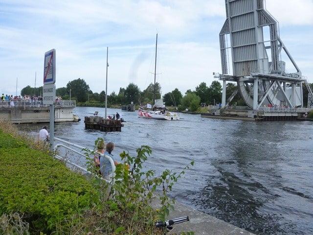 channel race dimanche 2 septembre 2012 voilier passant le pegasus ouvert