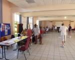 Forum des associations essai de badminton