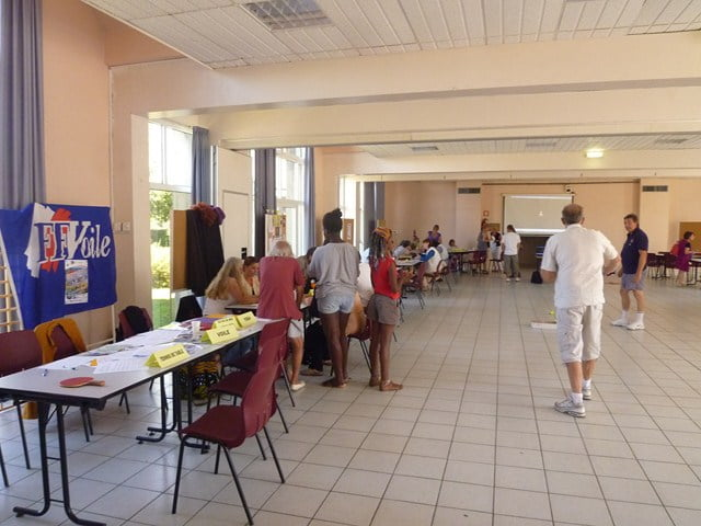 Forum des associations essai de badminton