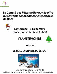 NOEL 2015 COMITE DES FETES